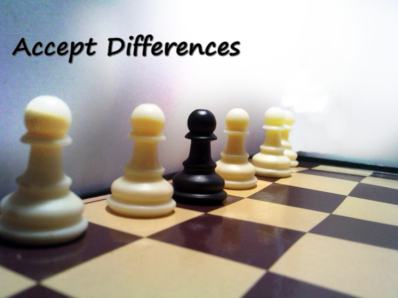Accept The Differences