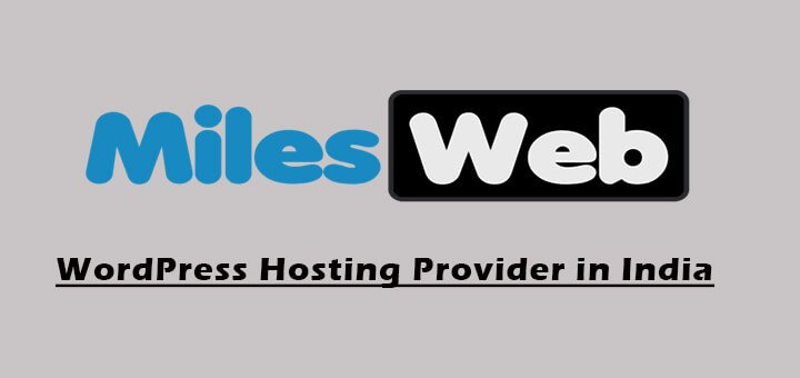 How To Start Your Blog at $1 With MilesWeb Managed WordPress Hosting